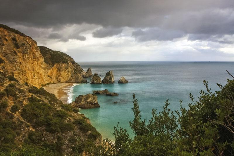 Una costa con un millar de paisajes - La costa orientada al sur